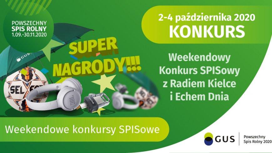 Weekendowy Konkurs SPISowy z Radiem Kielce i Echem Dnia