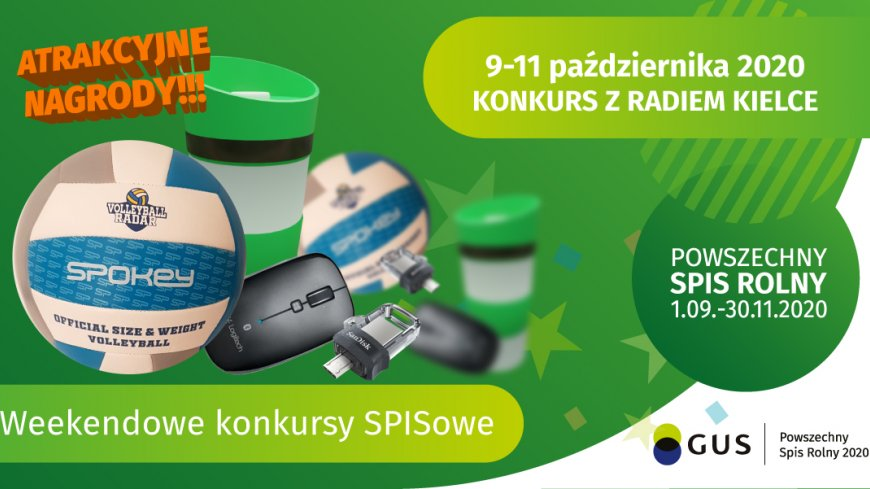 Konkurs weekendowy 9.10 - 11.10