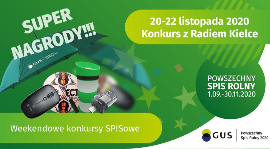 Weekendowy Konkurs SPISowy z Radiem Kielce (edycja XII)