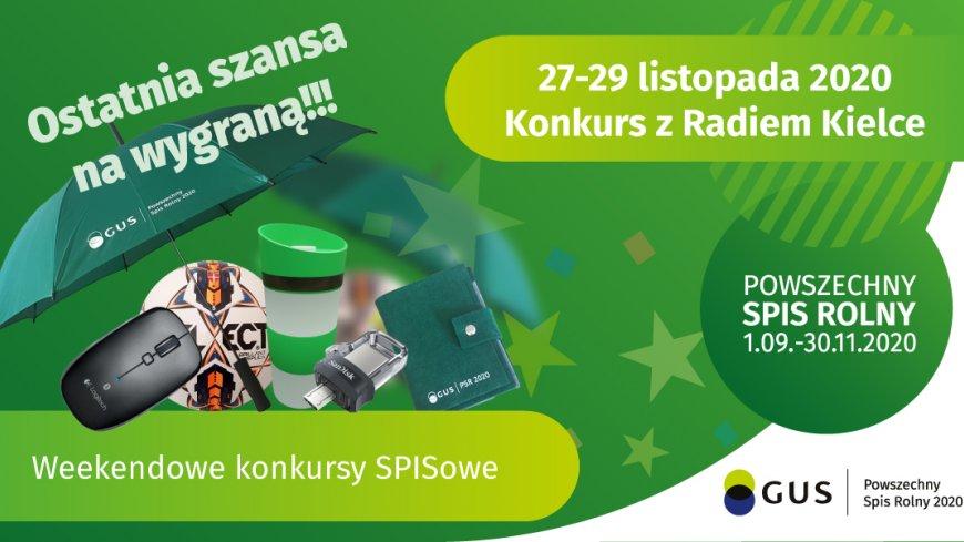 Weekendowy Konkurs SPISowy z Radiem Kielce (edycja XIII)
